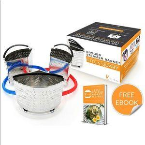 NWT Divider Basket Set Compatible with Instant Pot